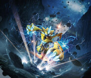 Zeraora Sun and Moon Lost Thunder