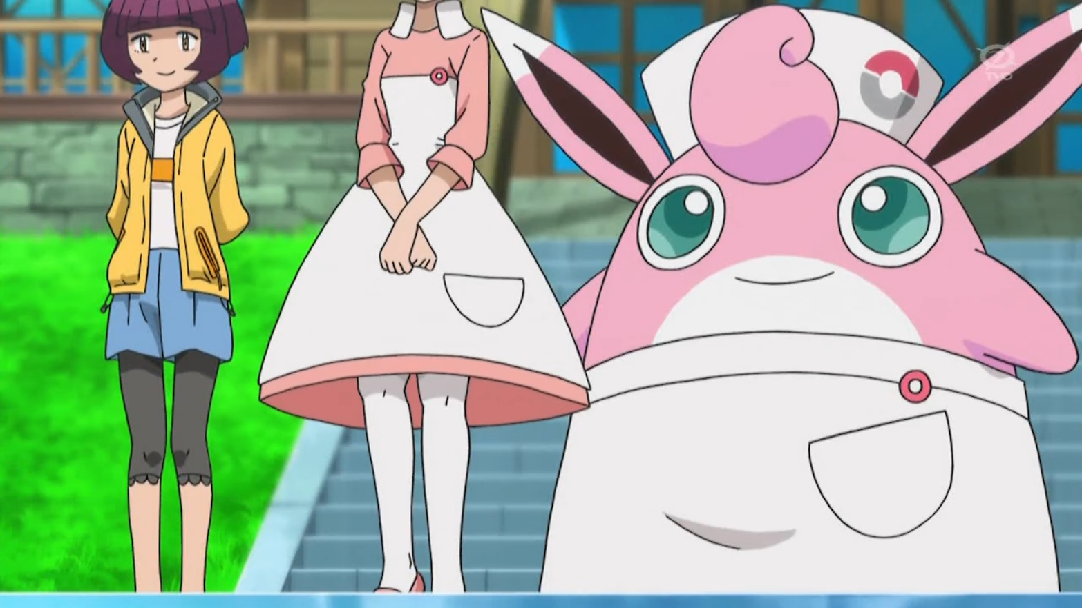Nurse Joy Wigglytuff