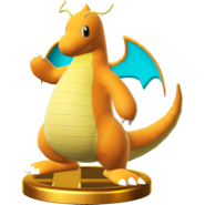 Dragonite trophy SSBWU
