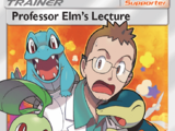 Professor Elm's Lecture (Lost Thunder)