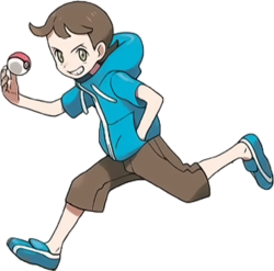 Pokemon X & Y Youngster battle sprite