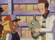 Ash and Professor Elm