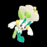 670Floette White Flower Pokémon HOME