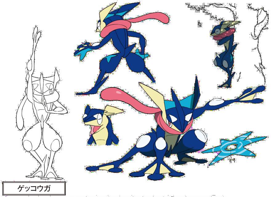 Pokemon Greninja Mega Evolution