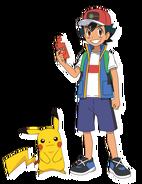 Ash Pikachu PJ
