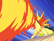 Jimmy Typhlosion Flamethrower