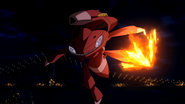 Red Genesect Blaze Kick