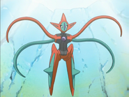 Deoxys Attack Forme anime