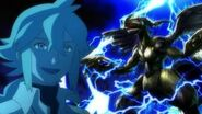 N and Zekrom anime