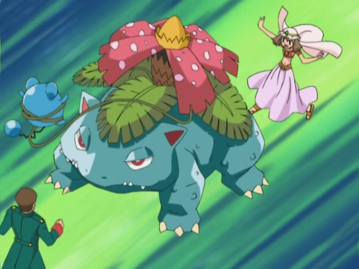 May 39 s venusaur pok mon wiki fandom powered by wikia - Pokemon florizarre ...