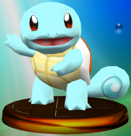 File:Squirtle trophy SSBM.png