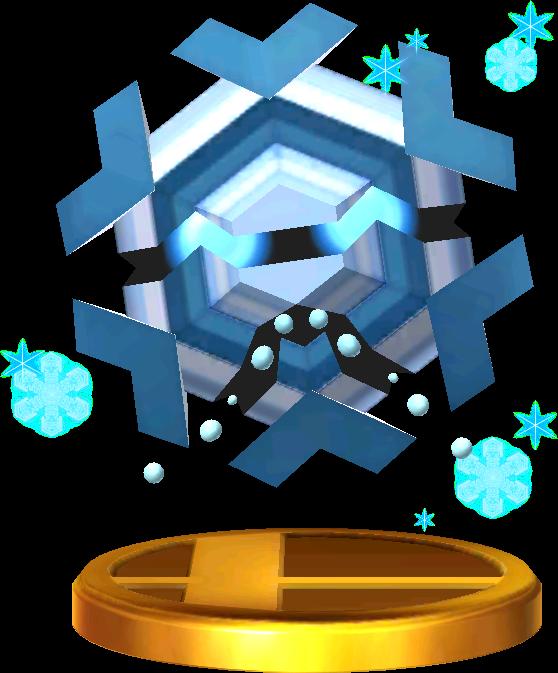 Cryogonal trophy SSB3DS