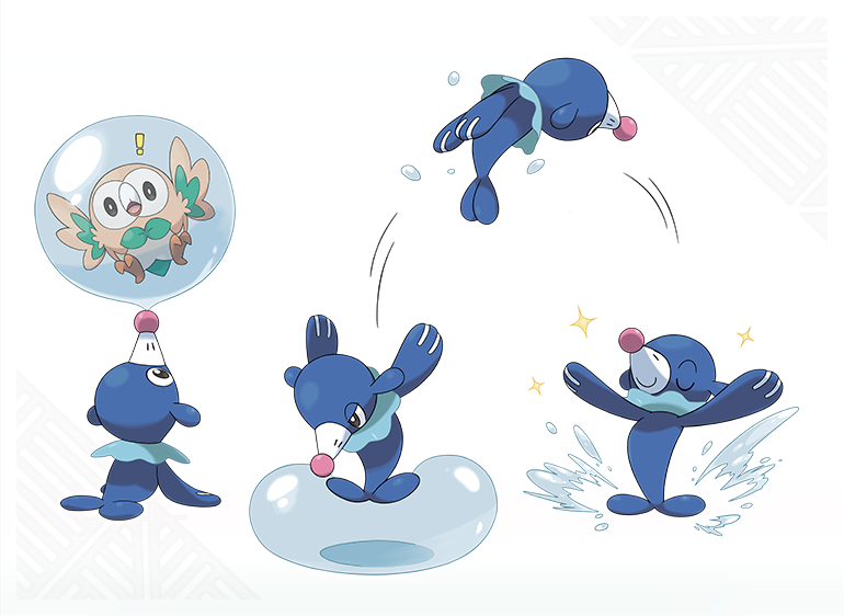 Image Popplio Concept Artwork Png Pok 233 Mon Wiki Fandom Powered By Wikia