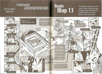 Adventures volume 13 map