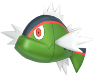 550Basculin Red-Striped Pokémon HOME
