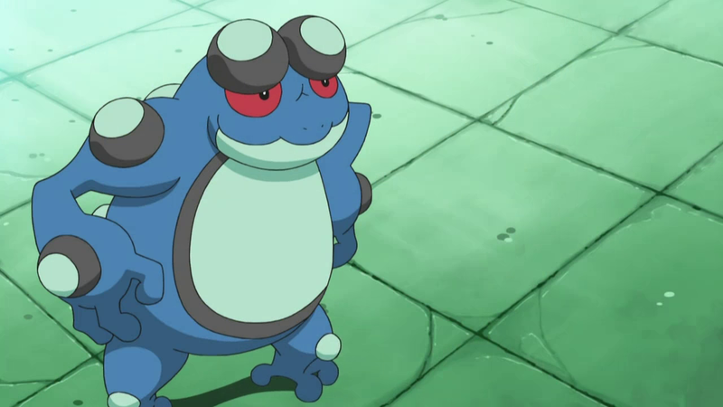 Sean's father Seismitoad