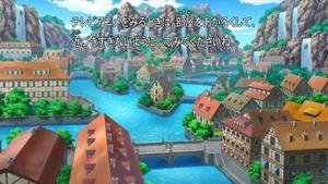 애니메이션에서의 배롱마을