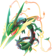 Mega Rayquaza Pokken Tournament DX