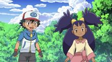 Ash and Iris