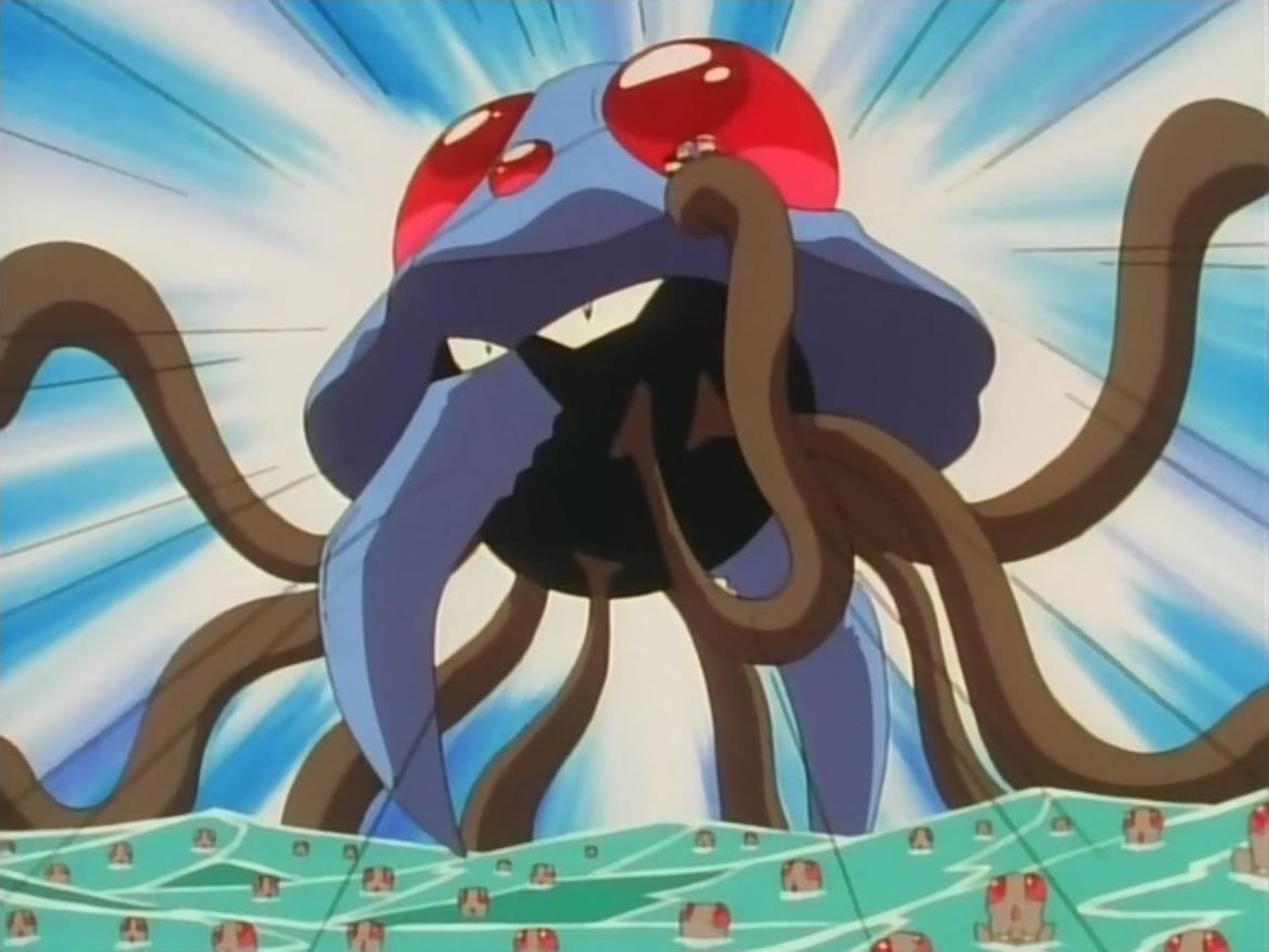 Giant Tentacruel Pok 233 Mon Wiki Fandom Powered By Wikia