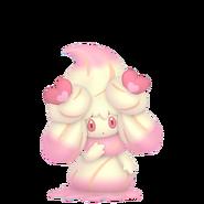869Alcremie Ruby Swirl Love Sweet Pokémon HOME