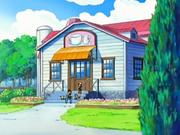 애니에서의 작은 산장 카페