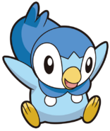 393Piplup DP anime 8