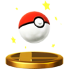 Poké Ball trophy SSBWU