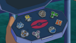 Ash Sinnoh Badges