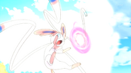 Penelope Sylveon Moonblast