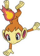 390Chimchar DP anime 3