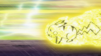 Pikachu Volt Tackle Fire Red