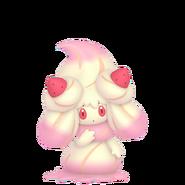 869Alcremie Ruby Swirl Strawberry Sweet Pokémon HOME