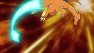 Ash Charizard Dragon Tail
