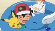 Dragonair With Ash's Pikachu kanto