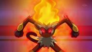 EP648 Infernape usant mar flames