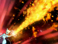 Mirage Arcanine Flamethrower