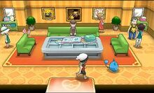 Pokémon Fan Club House Interior