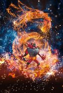 Incineroar (alt) Pokemon TCG Sun and Moon