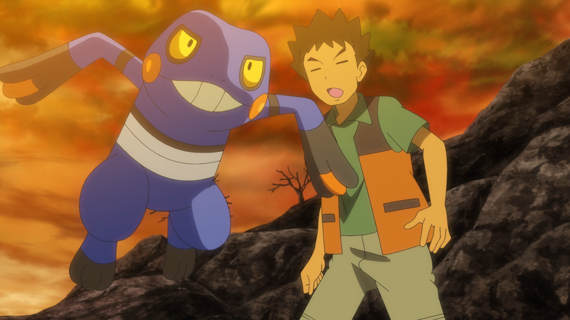 Brocks croagunk