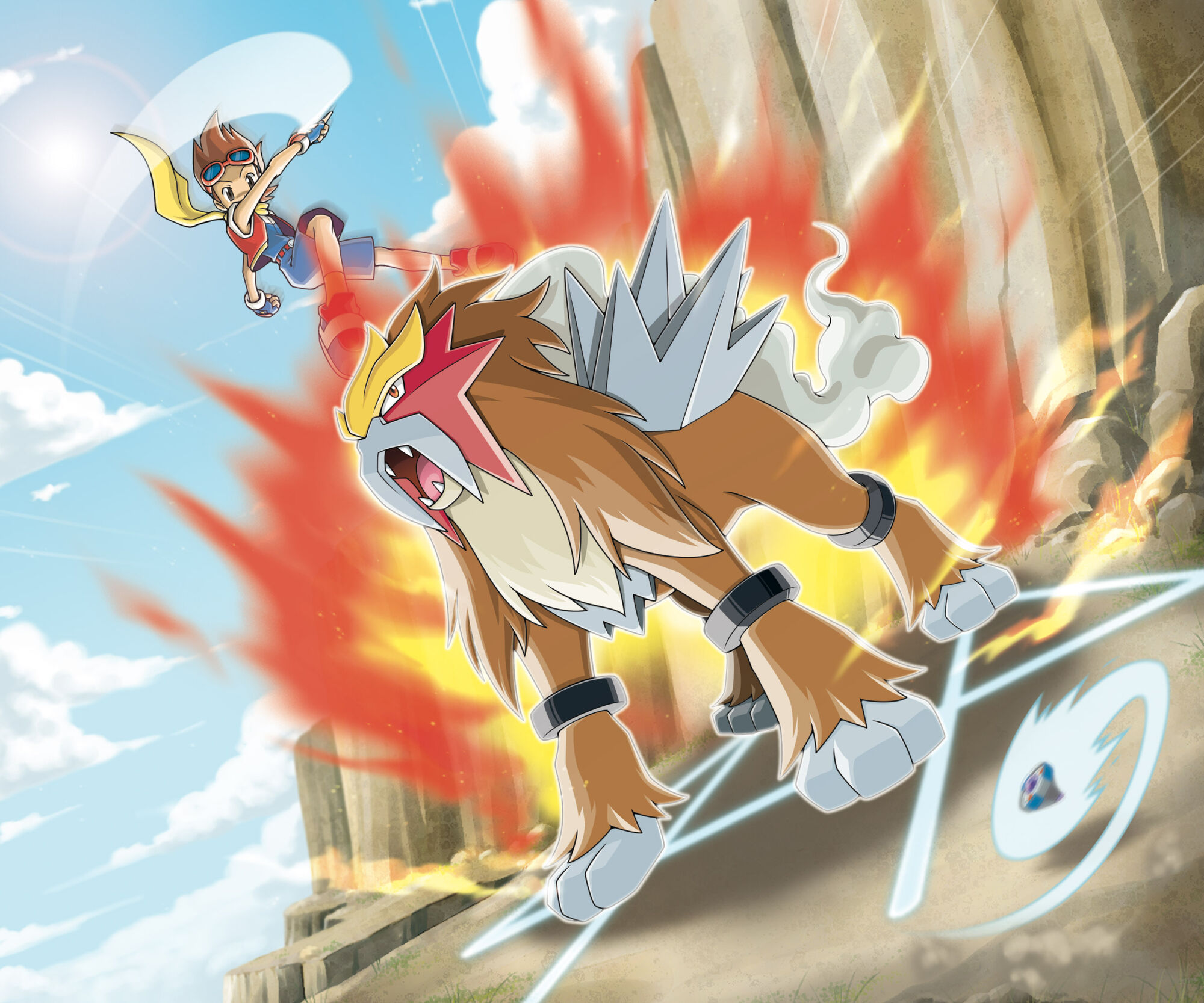 VS Entei Pokemon Ranger Guardian Signs.jpg