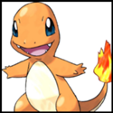 Generation I Button - Charmander