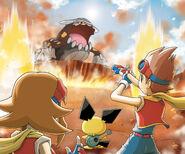 VS Heatran Pokemon Ranger Guardian Signs