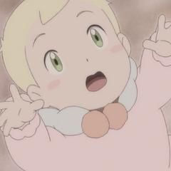 Лили в младенчестве