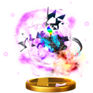 Mega Evolution (Charizard) trophy SSBWU