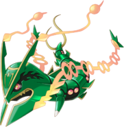 384Mega Rayquaza Pokemon Rumble World