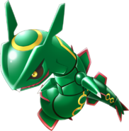 384Rayquaza Pokemon Rumble U