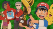 Alola Pokémon League Champion Ash
