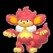 514Simisear Pokémon HOME