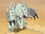 Guzma's Golisopod (anime)